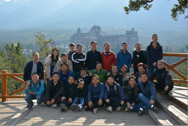 2017 English and PMP Group Banff Tour