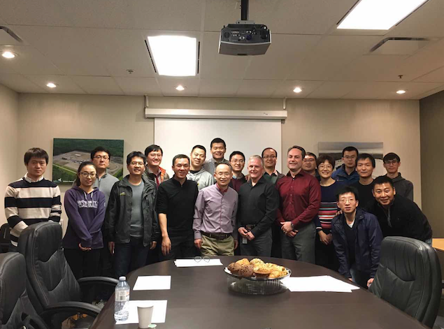 2017 English and PMP Group Company Visiting